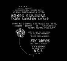 Mzansi 2010 - Nkosi Sikelel' iAfrika (white)  by catherine bosman