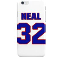 National Hockey player Neal Coulter jersey 32 iPhone Case/Skin