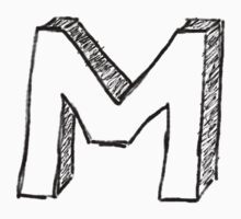 "Doodle - The Mighty ""M"" by Rawkie"