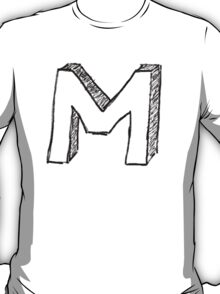 """Doodle - The Mighty """"M"""" T-Shirt"""