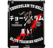 Chokeslame Elite Training Squad iPad Case/Skin