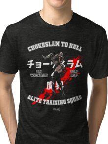 Chokeslame Elite Training Squad Tri-blend T-Shirt