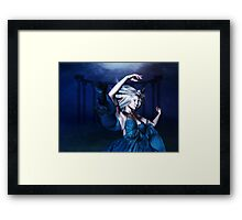 Woman under water 2 Framed Print