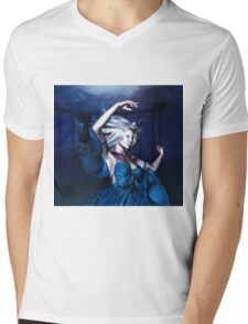 Woman under water 2 Mens V-Neck T-Shirt