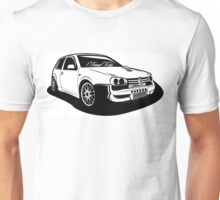 Golf Turbo Unisex T-Shirt