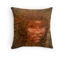 Serene warrior Throw Pillow