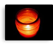 Dying Flame Canvas Print