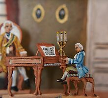 Mozart at the Court in Vienna by Alexandra Lavizzari
