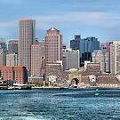 Boston Harbor by Mark Bolen