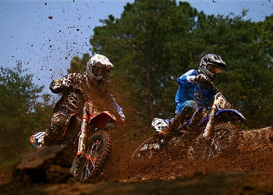 Budds Creek Pro MX National Series - Jake Moss & Justin Brayton by Terri Waughtel