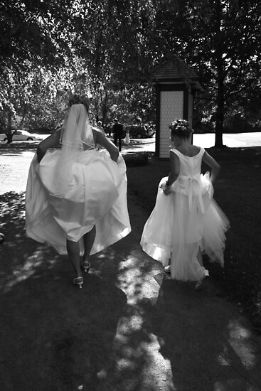Off To The Reception by Heidi Hermes