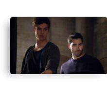 The Pack [Derek & Isaac] Canvas Print