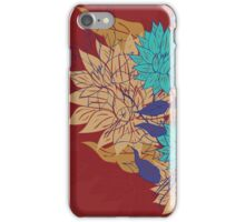 Colorful Flower Ornament 3 iPhone Case/Skin