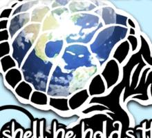 Turtle Beam Rhyme 2 Sticker