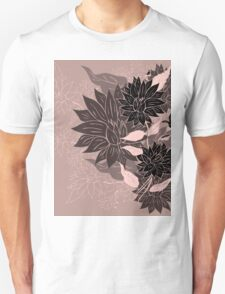 Colorful Flower Ornament 4 Unisex T-Shirt