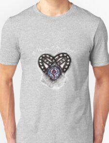 A Heart made Fullmetal - Black Unisex T-Shirt