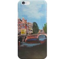 Holland, Amsterdam Canals iPhone Case/Skin