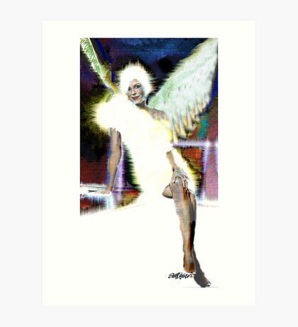Angel: Homage to Shanina Conway Art Print