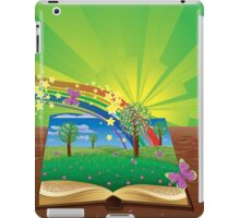 Magic book iPad Case/Skin