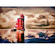 Harbour Light Photographic Print