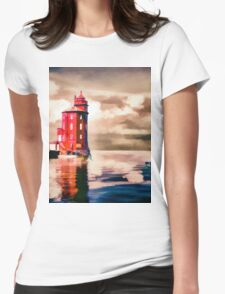 Harbour Light Womens Fitted T-Shirt