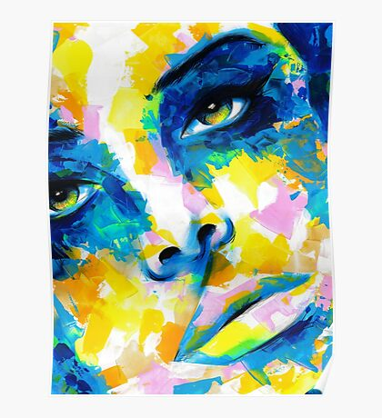 TILT Original Ink & Acrylic Painting Poster