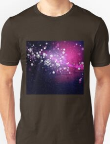 Abstract snowy background 2 Unisex T-Shirt