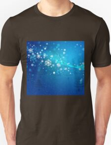 Abstract snowy background 3 Unisex T-Shirt