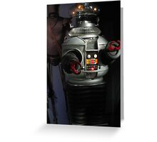 Lost in Space Robot Greeting Card