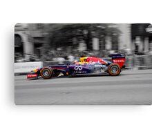 Red Bull F1 - Demo Run Canvas Print