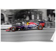 Red Bull F1 - Demo Run Poster