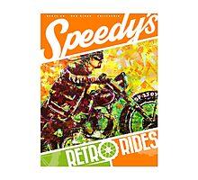 SPEEDY'S RETRO RIDES V.03 / GRAPHIC POSTER  Photographic Print
