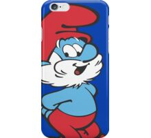 Papa Smurf iPhone Case/Skin