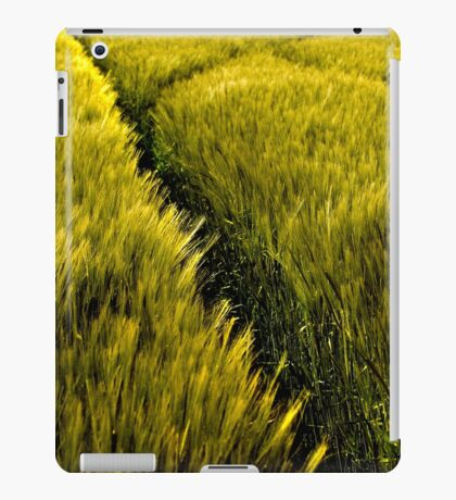 Green Crop iPad Case/Skin
