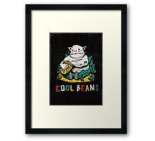 Cool Beans! Framed Print