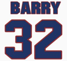 National Hockey player Barry Brust jersey 32 by imsport