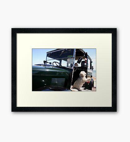TAXI !!!!! Framed Print