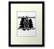 Bear Beam Rhyme - Shardik Framed Print