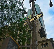 Cross-street two by Robin Wiggs