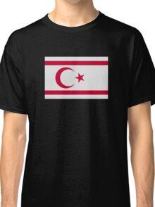 North Cyprus flag Classic T-Shirt