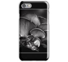 Shelf Fungus Monochrome Poster iPhone Case/Skin