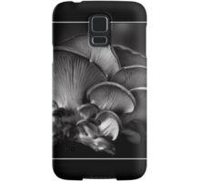 Shelf Fungus Monochrome Poster Samsung Galaxy Case/Skin