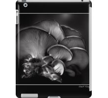 Shelf Fungus Monochrome Poster iPad Case/Skin