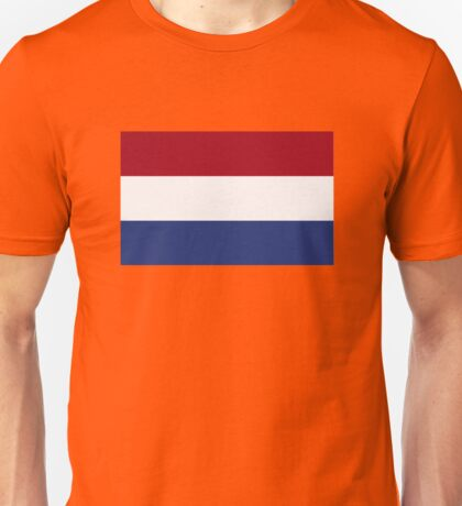 Netherlands flag Unisex T-Shirt