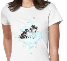 Snow flake Womens Fitted T-Shirt