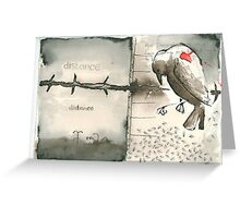 messenger 8 Greeting Card
