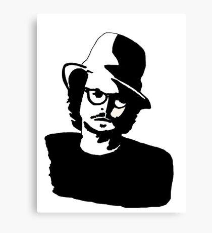 Johnny Depp  Canvas Print