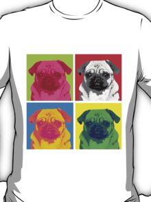 Pop Art Pug T-Shirt