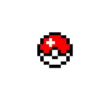 8-Bit PokeBall by Quiixx
