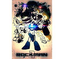 rockman 1 Photographic Print